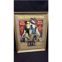 Cody Wyoming Show & Auction Advertising Poster