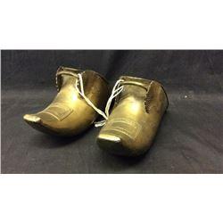 Spanish Brass Tapaderos Mid 1800s