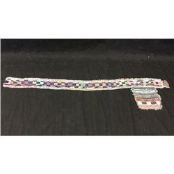 Beaded Belt with Pocket 1880s