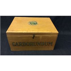 Carborundum Box Dovetailed