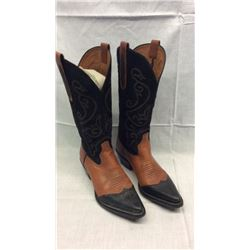 Two Tone Black and Brown Size 8