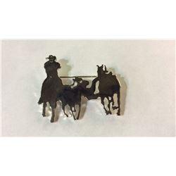 Cowboy BullDogging Pen