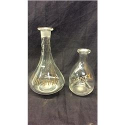 Edgewood and Kinsey Decanters