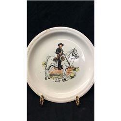 Hopalong Cassidy Collector Plate