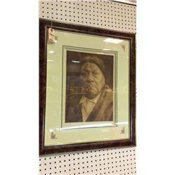 A. Comanche Photograph Framed