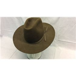 Brown Custom Made Hat 10x
