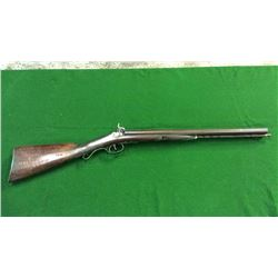 Historical Coach Gun. Double Barrel
