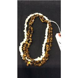 3 Strings Nugget Necklaces