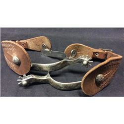Vogt Sterling Mounted Spurs
