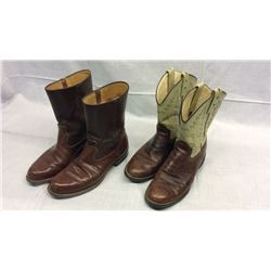 2 Pairs Mens Roper Boots