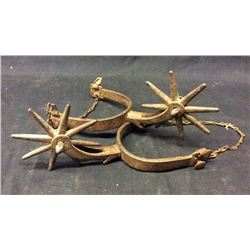 1870s California Spurs Large Rowles