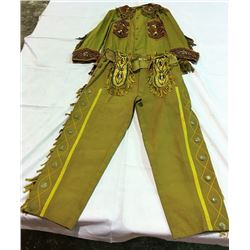 Wild West Shows Annie Stadrou Pants and Jacket.
