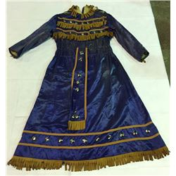 Blue Dress Used in Wild West Shows