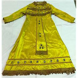 Gold Dress Used in Wild West Shows