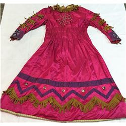 Pink Dress Used in Wild West Shows