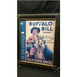 Buffalo Bill Sells Floto Circus Poster