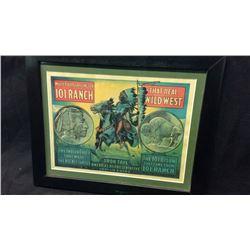 Rare Double Sided Buffalo Bill Wild West 101 Ranch