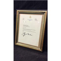 George W Bush Autograph