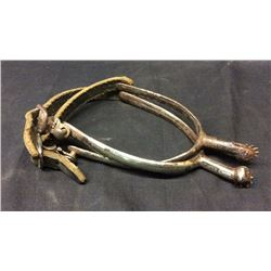 Military Spurs with Rowels