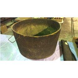 Wooden Cowboy Bath Tub