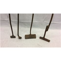 Early Branding Iron Set
