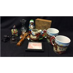 Collection of 11, 1940s Western Collectibles