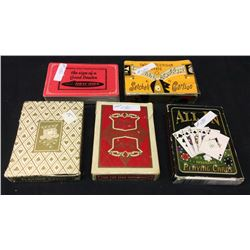 5 Packs Playing Cards