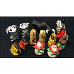 1940s Salt and Pepper Collection 6sets