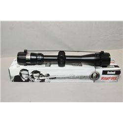Bushnell Rimfire 3.5 - 10 X 36 MM Variable Matte Finish Scope w/ adjustable objective Drop Zone 22 R