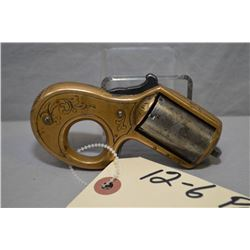 James Reid ( Catskill New York ) Model Knuckle Duster .22 Cal 7 Shot Revolver w/ 42 mm bbl [ engrave