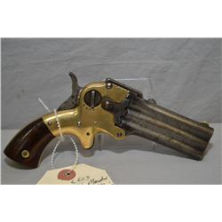 Wm W. Marston Model Three - Barrel 32 Derringer ( New York City ) .32 Rimfire Cal 3 Shot Derringer w