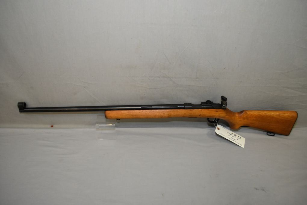 Brno Model 4  22 LR Cal Mag Fed Bolt Action Target Rifle w/ 27 1/2