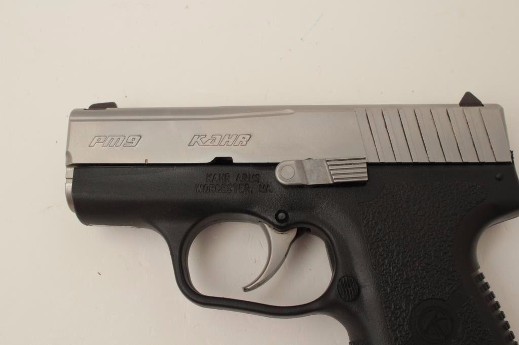 Kahr Arms Model PM9 DA semi-automatic pistol, 9mm caliber, 3