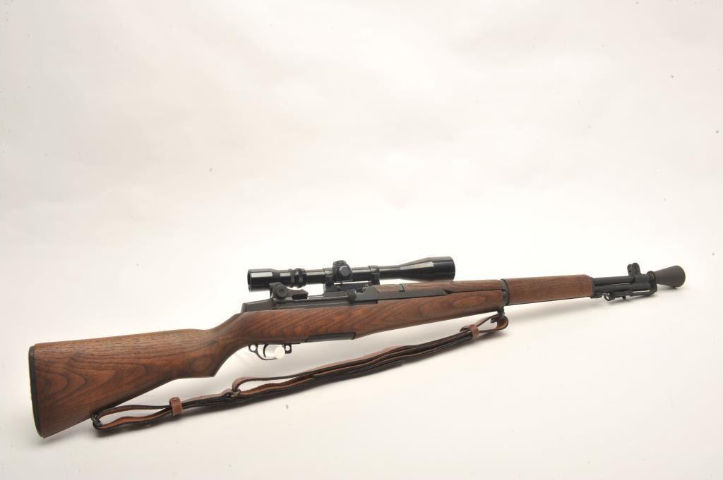 Built-up Garand M1-C semi-automatic rifle with Kriger Match