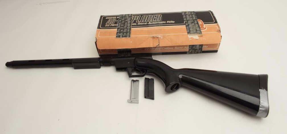 Charter Arms Model AR 7 Explorer Semi Automatic Rifle 22