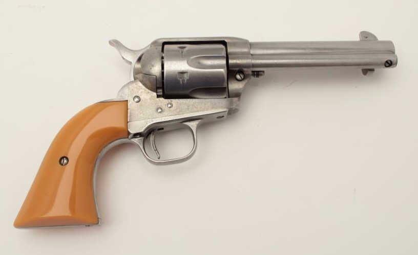 "Cimarron SAA revolver,  45 caliber, 4 75"" barrel, composite grips, S"