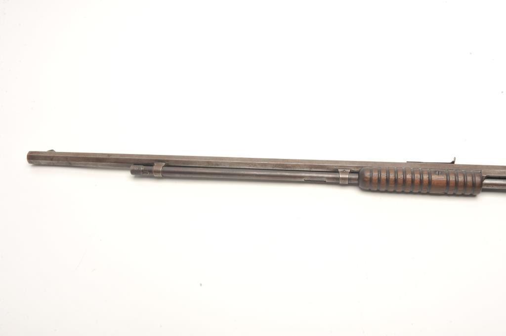 winchester model 1890 pump action rifle in 22 short. Black Bedroom Furniture Sets. Home Design Ideas