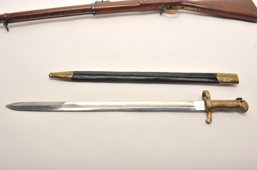 Euroarms replica of an Enfield percussion rifle,  58 caliber