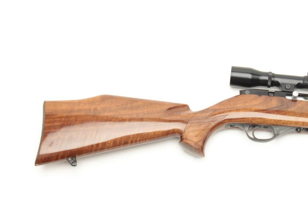 Weatherby MK  XXII bolt action rifle,  22 Long Rifle caliber, serial