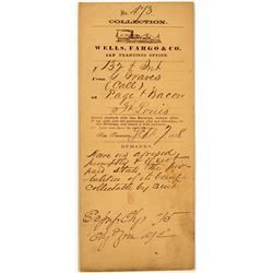 Gold Rush / Wells Fargo Collection Envelope