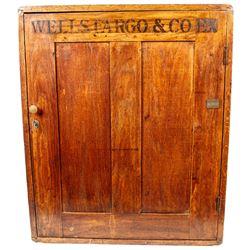 Classic Wells Fargo Oak Secretary