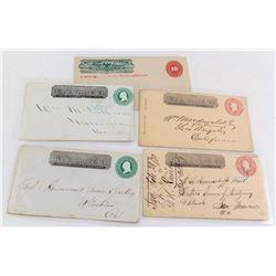 Five California Wells Fargo Covers