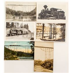 Nevada County RR Postcards