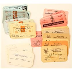 RR Telegraph and Dispatch Cards