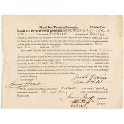 Bond for Tavern Licence