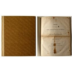 Report of the Progress the Geological Survey of the State of Virginia for the Year 1838