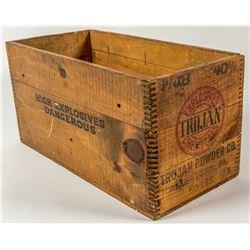 Trojan Powder Company Wood Box