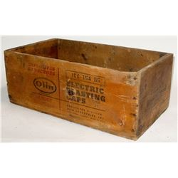 Western Blasting Cap Box
