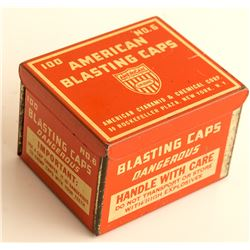 American Blasting Cap Tin