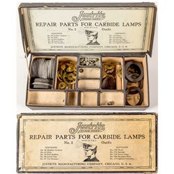 Repair Parts for Carbide Lamps, No. 2 Outfit